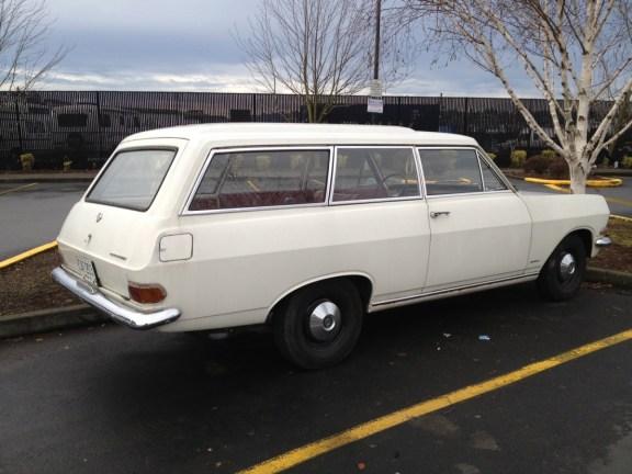 Opel Rekord 1963  wagon side