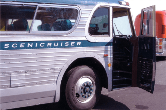 Scenicruiser front door