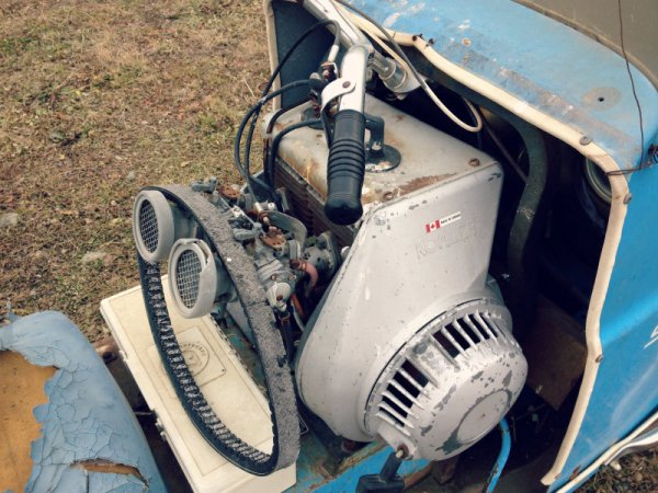 Snowcruiser 32 engine 1