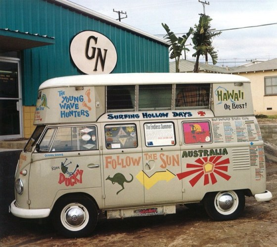 VW Bus  Camper shot in 1965