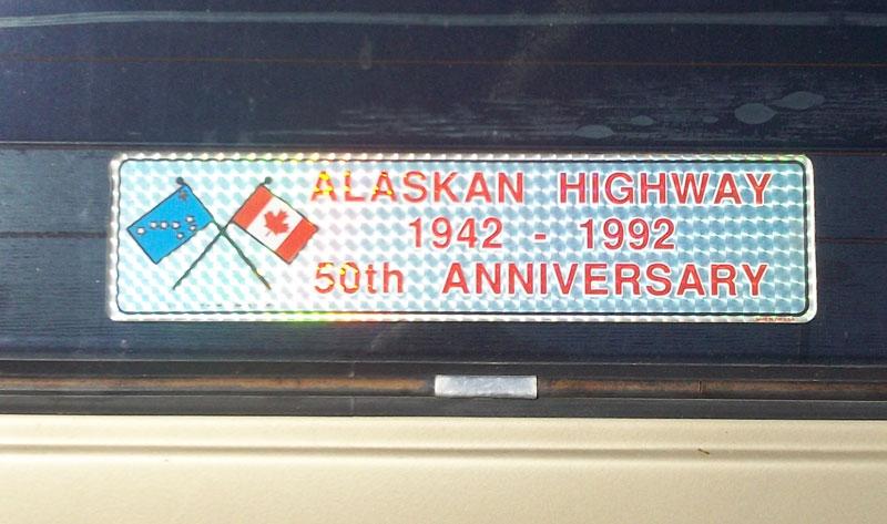 Alcan Hiway Sticker