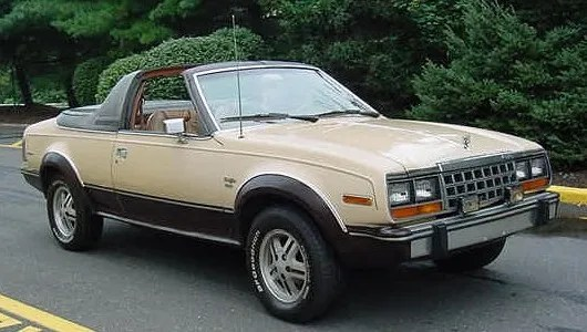 AMC Eagle sundancer_convertible_beige_NJ