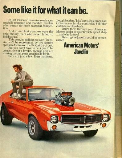 AMC Javelin ad