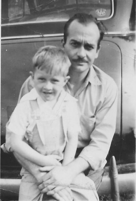 Dad & Ed May 30, 1948