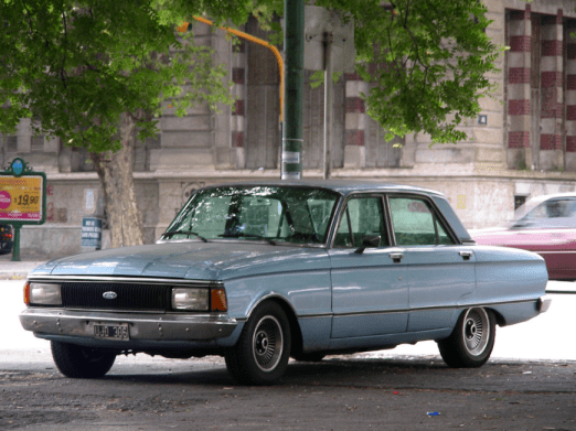 Ford ARG Falcon blue