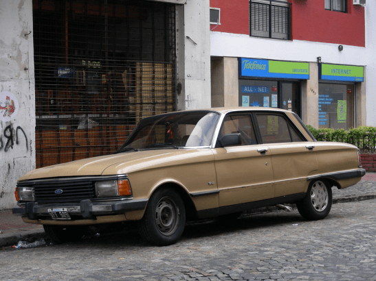 Ford ARG Falcon gold