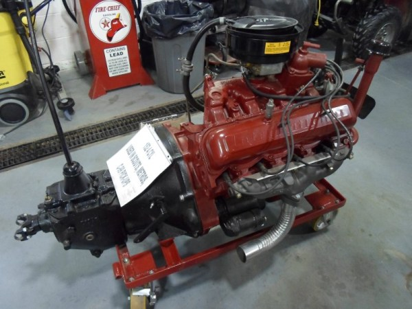 International 152 4cyl engine