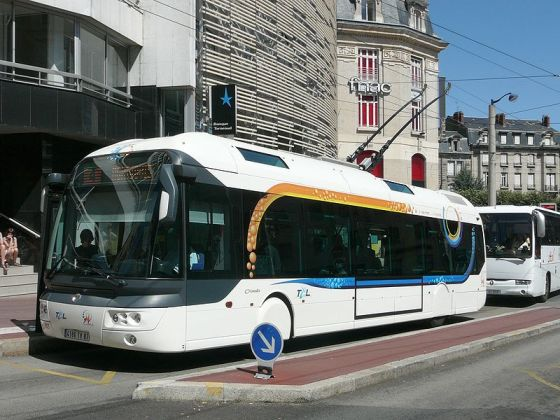 O bus Trolleybus_Cristalis_ligne_4