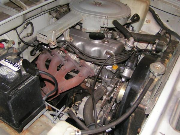 1986 Hyundai Stellar engine