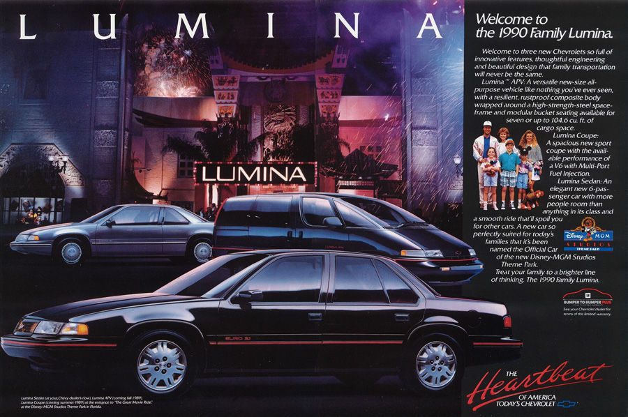 Curbside Classic: 1991 Chevrolet Lumina APV – Go Home GM, You're Drunk