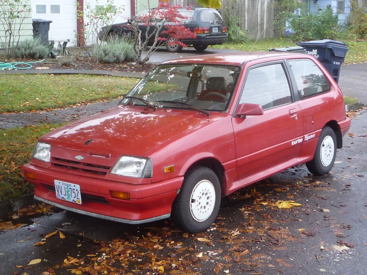 Curbside Classic: 1987 Chevrolet Turbo Sprint (Suzuki Cultus ...