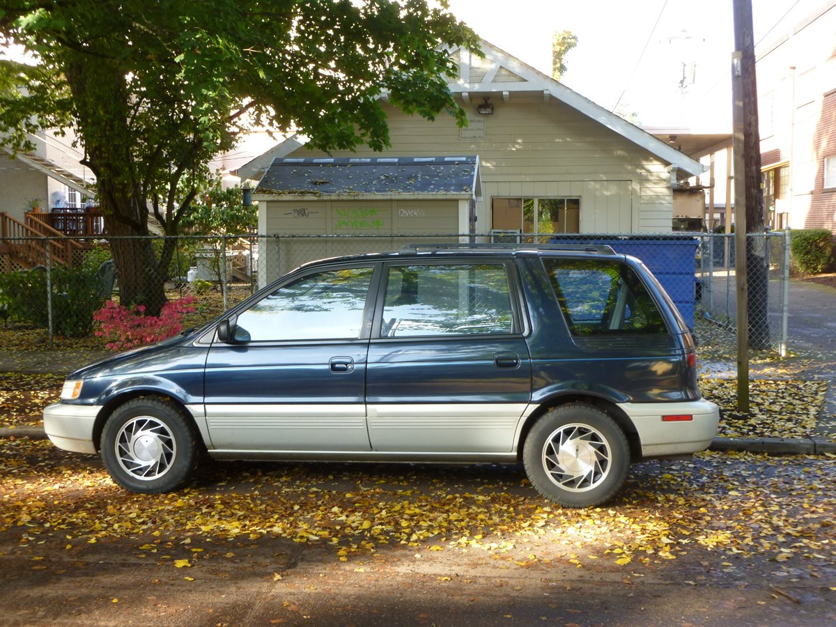 In 1992 the second generation chariot space wagon arrived this time being sold here as the mitsubishi expo