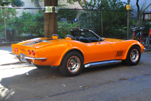 Corvette 1970 r Triborough