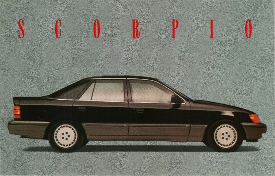 Merkur Scorpio revised styling bsr2