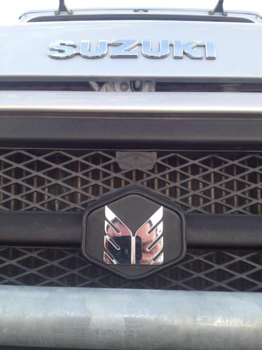 2014 Suzuki Farmworker with Suzuki badge and Maruti-Suzuki logo