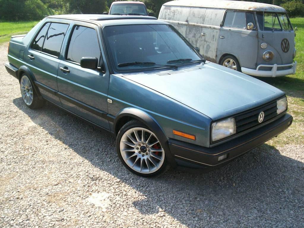 Coal 1988 Vw Jetta Gl Oh Mk2 How I Miss You Curbside Classic