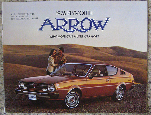 Plymouth arrow 1976-05