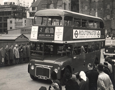 Routemaster bus 1956