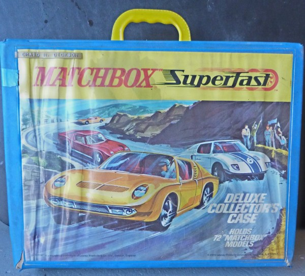 Matchbox Superfast carry case