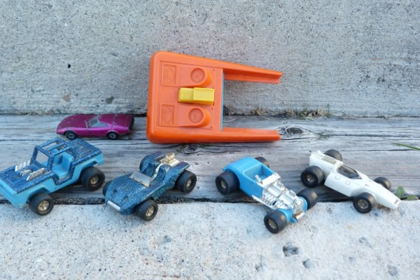 Tonka Totes. Note the Matchbox Dodge Charger 3 concept for scale