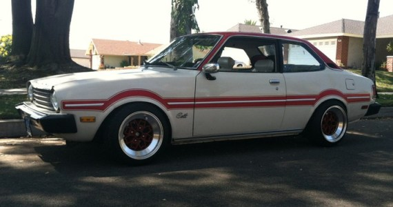 lowered Dodge Colt
