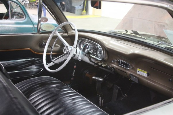 1962 Ford Falcon interior