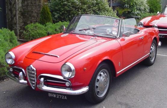 1963 Alfa Romeo Giuletta Spider-1
