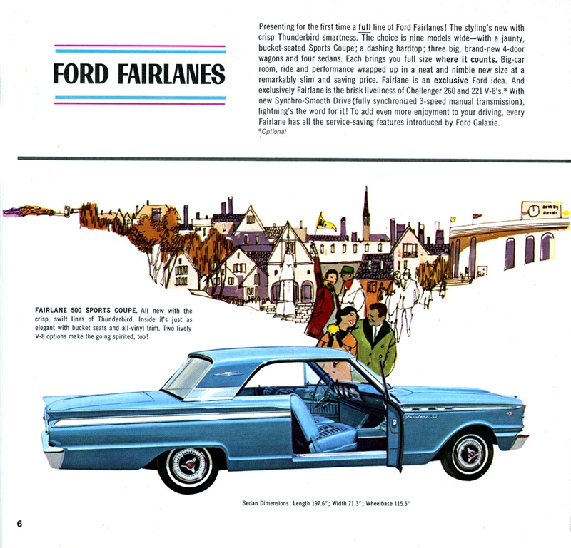 Car Show Classic: 1963 Ford Fairlane Sport Coupe K-Code