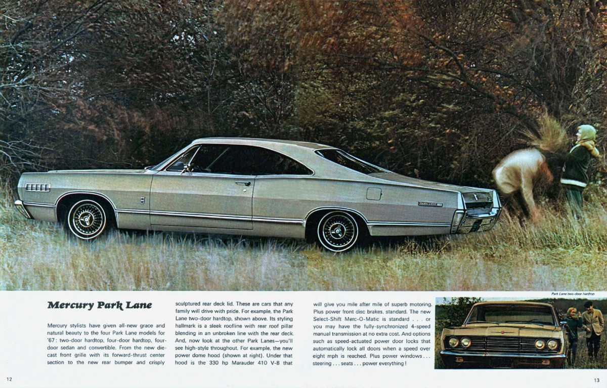 automotive history the ford fe series v8 enginestandard issue for the mercury park lane, this engine was rated at 330 horsepower it was optional on all other full sized mercury\u0027s