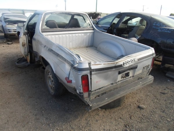 1986 Dodge Rampadge rear