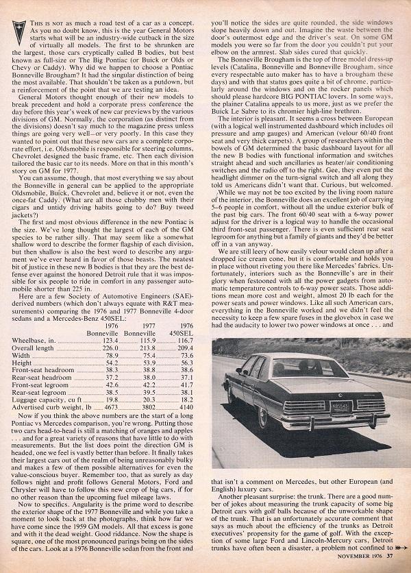 vintage review 1977 pontiac bonneville brougham rh curbsideclassic com 2005 Bonneville 2005 Bonneville