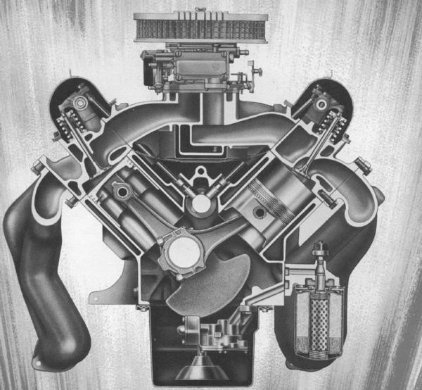 Ford Fe Engine Cutaway