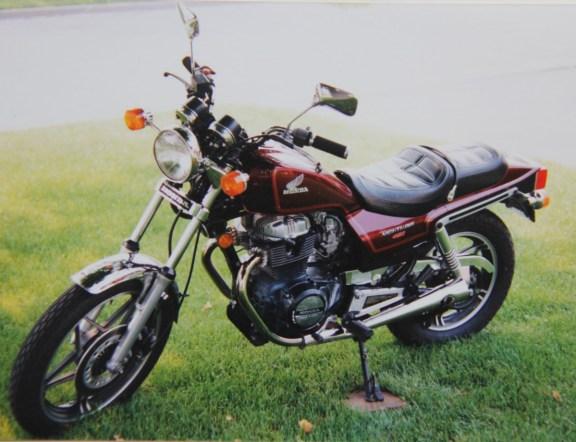 My 85 CB450SC