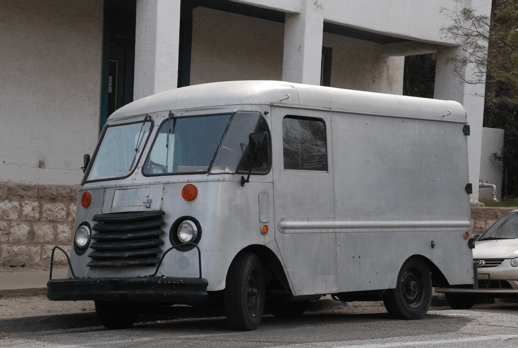 Cohort Outtake: Unidentified Step Van Safeguarding Its Vital Bodily