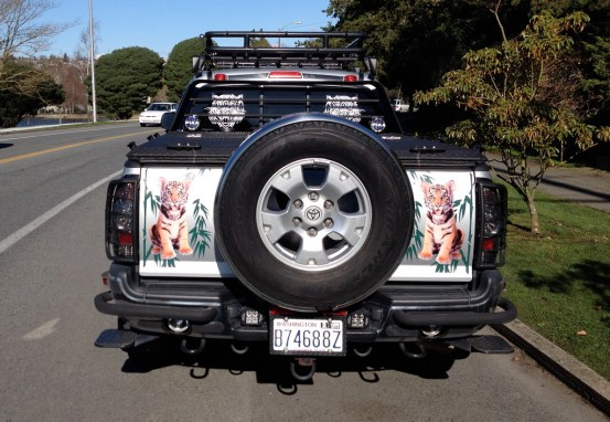Toyota Tacoma custom rear