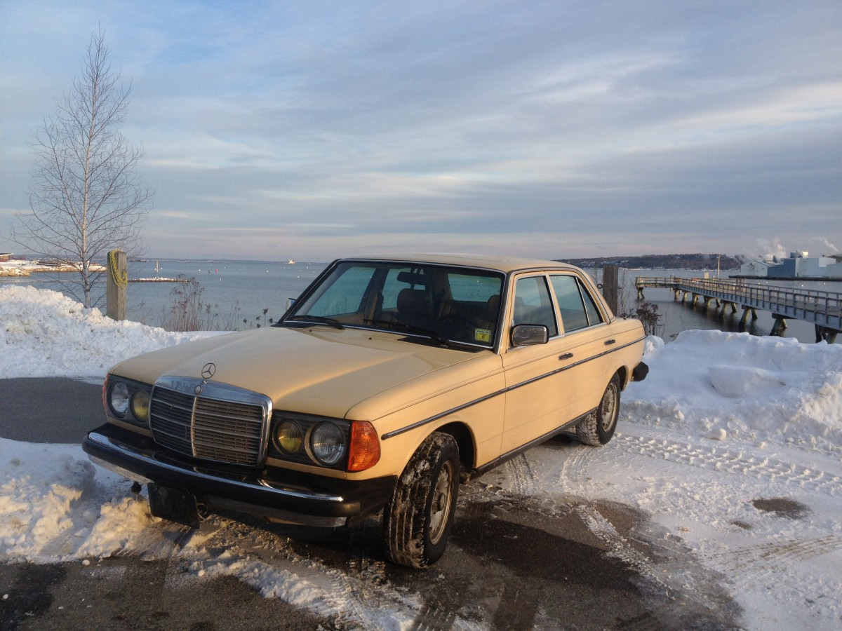 Curbside Classic 1985 Mercedes 300D Turbodiesel  More Than A