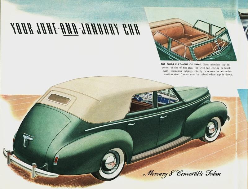 Curbside classic 1989 mercury grand marquis convertible for 1940 mercury 4 door convertible