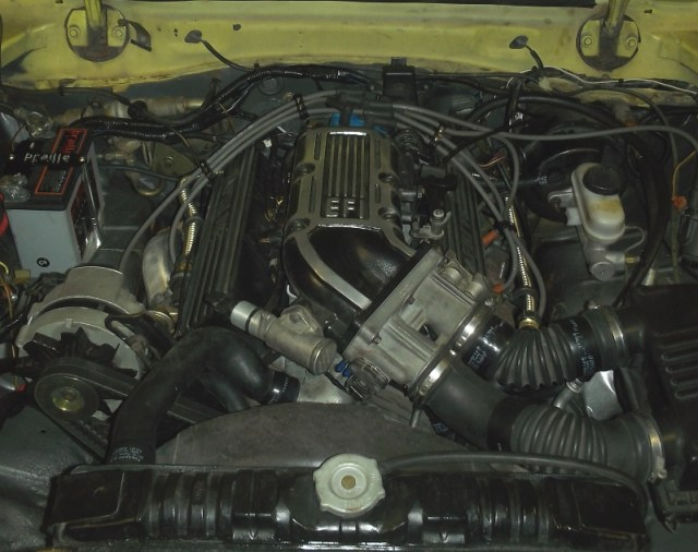 2.9 in engine bay
