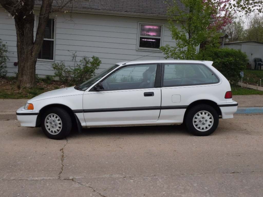 1991 honda civic dx hatchback value