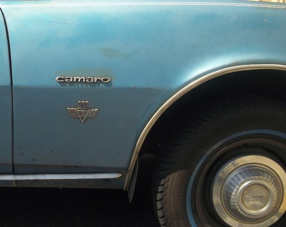 67 Camaro badge