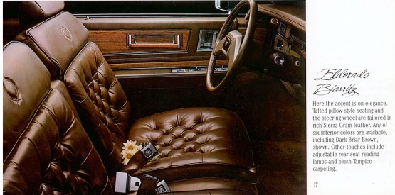 Biarritz Briar Brown interior