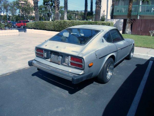 Datsun Z rear