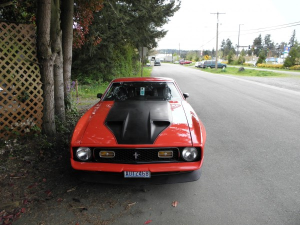 Red 1972 Mustang Mach 1 _07