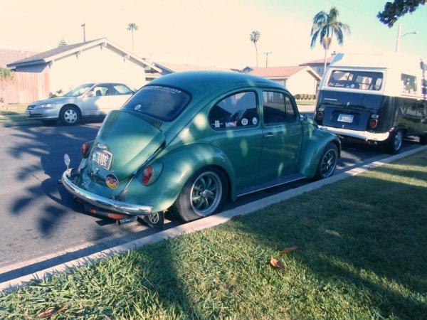 Volkswagen Beetle rear