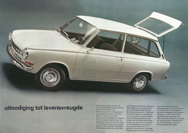 Daf Car Variable Belt Drive