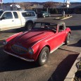 (first posted 4/24/2014) Here's something I didn't expect to see outside a grocery store in Utah. The badging says Austin Healey, but the flares, louvers and faux wire wheels all […]