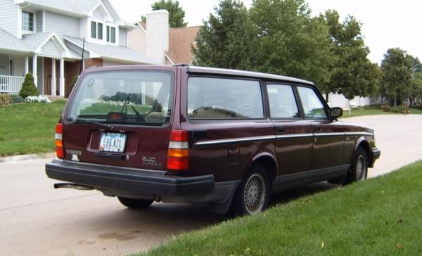 Curbside Clic: 1993 Volvo 240 Clic Wagon – So Long, Old Friend