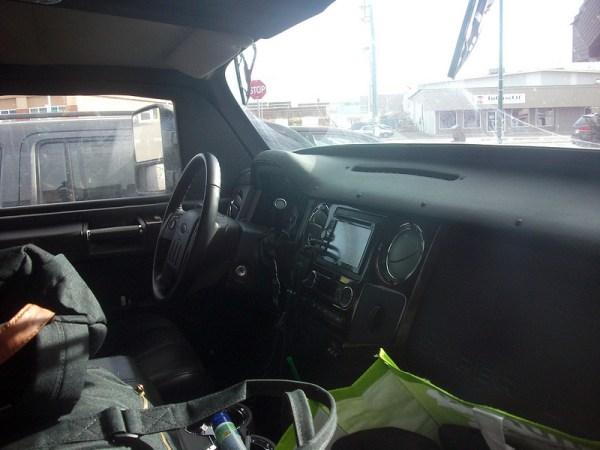 1957 Volvo Sugga interior