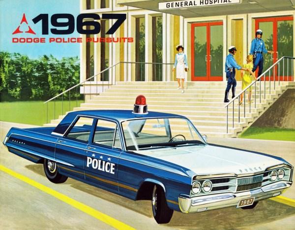 1967 Dodge Polara police
