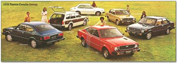1976 Corollas